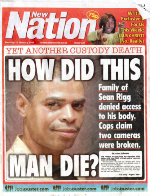 Sean Rigg New Nation Cover Jan 09